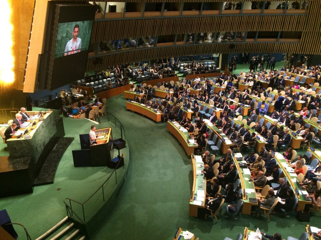 UN Summit for Refugees & Migrants Opening